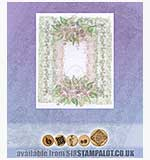Rubber Stamp Tapestry - Antique Garden