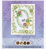 SO: Rubber Stamp Tapestry - Sweet Everlastings