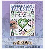 Rubber Stamp Tapestry - Patterned Floral
