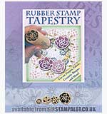 Rubber Stamp Tapestry - Peony Garden