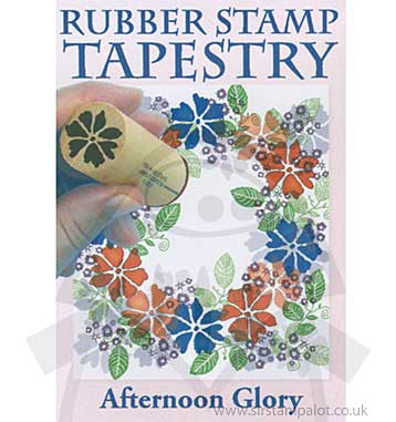 Rubber Stamp Tapestry - Afternoon Glory Set