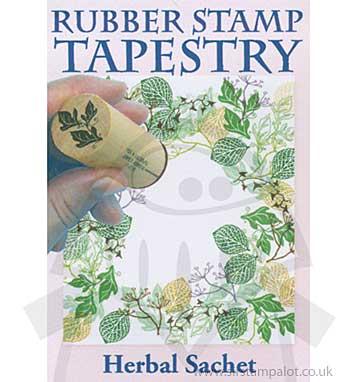 Rubber Stamp Tapestry - Herbal Sachet Set