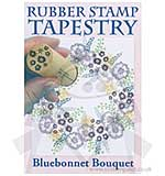 Rubber Stamp Tapestry - Bluebonnet Bouquet Set