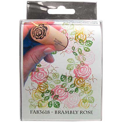 Rubber Stamp Tapestry - Brambly Rose
