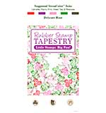SO: Rubber Stamp Tapestry - Delicate Rose