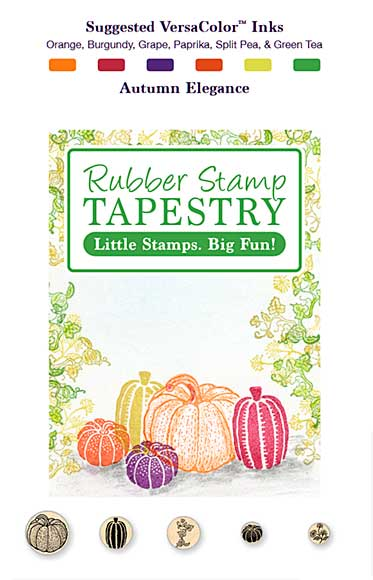 SO: Rubber Stamp Tapestry - Autumn Elegance