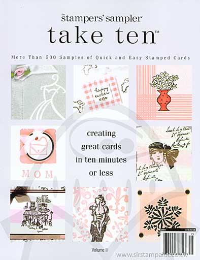 Stampers Sampler - Take Ten #02 (Cards in under 10 mins)