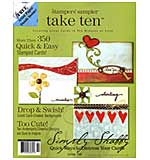 Stampers Sampler - Take Ten Spring 08 (Cards in 10 mins)