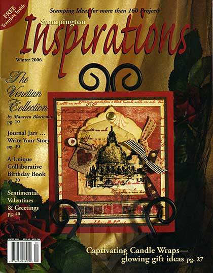 SO: Magazine - Stampington Inspirations - 2006 Winter