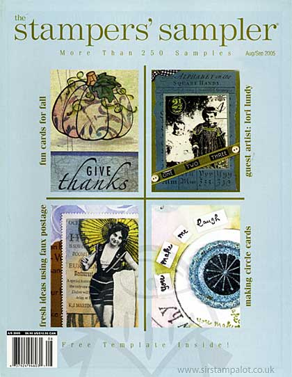 Stampers Sampler Magazine - August September 2005