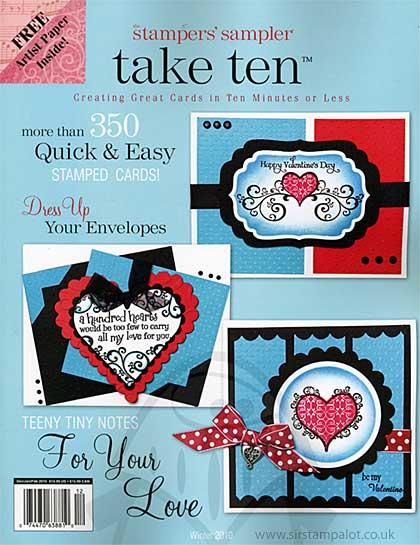 Stampers Sampler - Take Ten Dec Jan Feb 2010