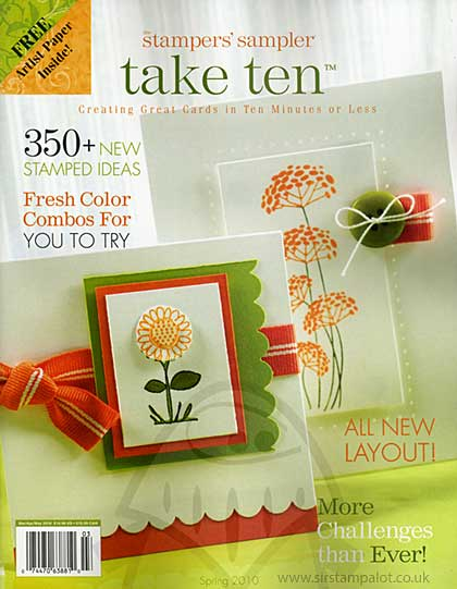 SO: Stampers Sampler - Take Ten - Spring 2010 (cards in under 10 min