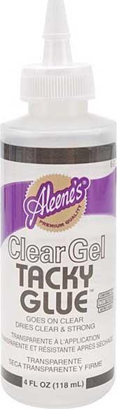 SO: Aleenes Clear Gel Tacky Glue - 4oz