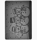 SO: BigShot Embossing Folder - Snowmen (Cuttlebug)