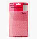 SO: BigShot Embossing Folder - Spots and Dots