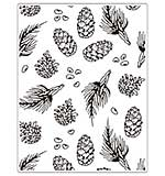 SO: Crafts Too Embossing Folder - Pine 14.6 x 19cm