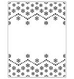 Crafts Too Embossing Folder - Snowflake 14.6 x 19 cm