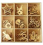 Crafts Too Wooden Element Shapes - Christmas 1