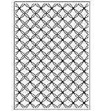 SO: Crafts Too Embossing Folder - Fancy Lattice (A4)