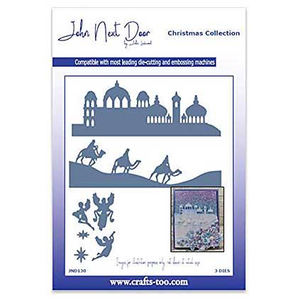 SO: John Next Door Christmas Dies - O Little Town Scenes (3pcs)