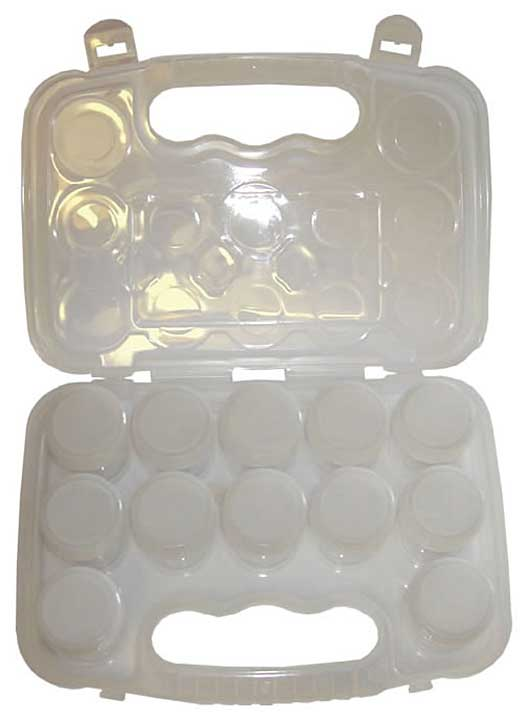 SO: Crafts Too Storage Box with 12 x CT21835A Pots