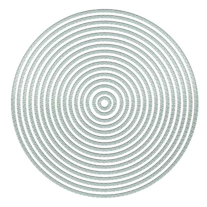 Presscut Cutting Nesting Dies - Sitch Dot Circles