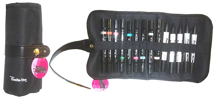 Crafts Too Large Marker Pen Case (400 x 200mm - Pens not included)