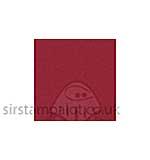 SO: Bazzill 12x12 Grasscloth Texture - Ruby Slipper