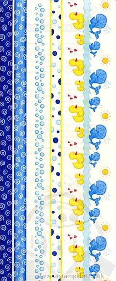 Stickeroos Stickers - Bathtime Border