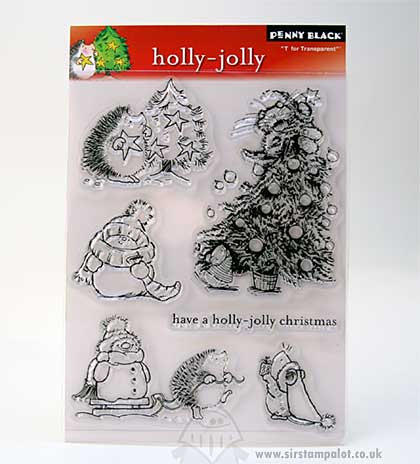 T for Transparent - Holly-Jolly