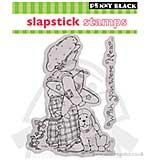 SO: SlapStick Cling Stamp - Fly Away