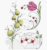 SO: Slapstick Cling - delicate florals