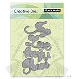Creative Cutting Dies - Love and Joy