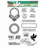 Penny Black Clear Stamps Set - Jolly Filled