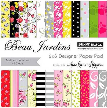 SO: Penny Black Paper Pad 6x6 48pk - Beau Jardins