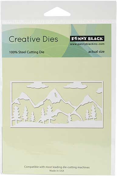 Penny Black Creative Dies - Mountain Range