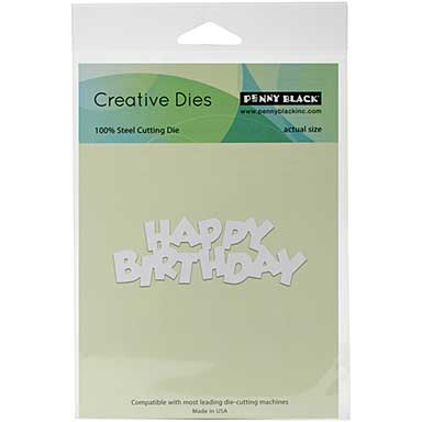 Penny Black Creative Dies - Birthday