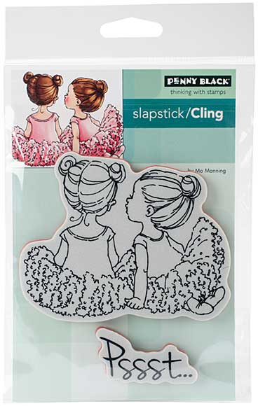 Penny Black Cling Stamps - Whispers