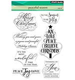 Penny Black Clear Stamps - Peaceful Season