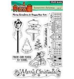 SO: Penny Black Clear Stamps - Hometown Christmas