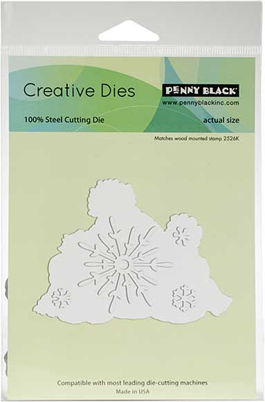 Penny Black Creative Dies - Snow Family Cut Out