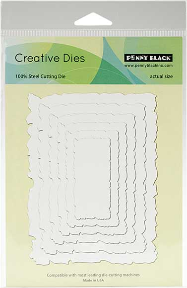 SO: Penny Black Creative Dies - Antique Frame