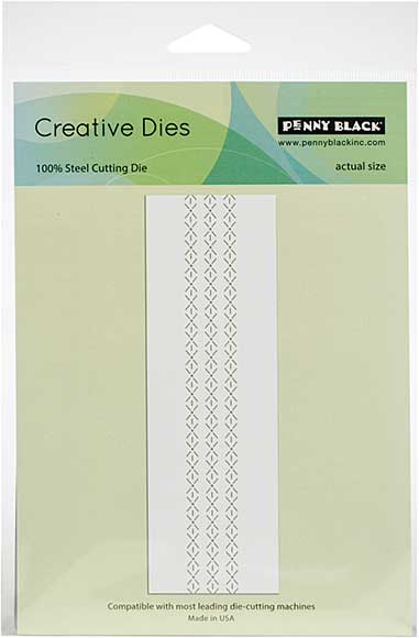 Penny Black Creative Dies - Rows Of Stitches