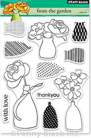 SO: Penny Black Clear Stamps - From The Garden