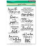 SO: Penny Black Clear Stamps - Good Wishes