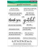 Penny Black Clear Stamps - Grateful Sentiments