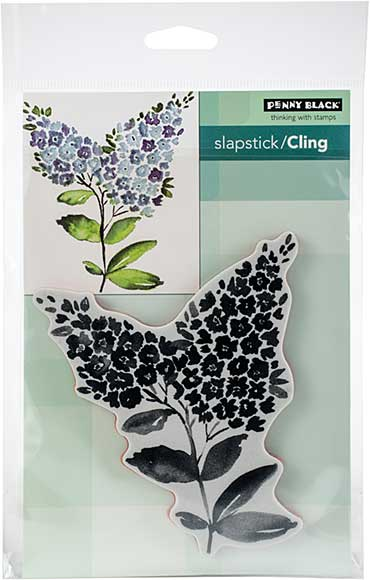 SO: Penny Black Cling Stamps - Lilacs