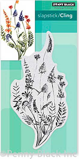 SO: Penny Black Cling Stamps - A Floral Twist