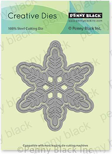 Penny Black Creative Dies - Snowflake Tag