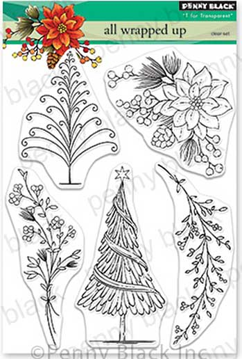 Penny Black Clear Stamps - All Wrapped Up